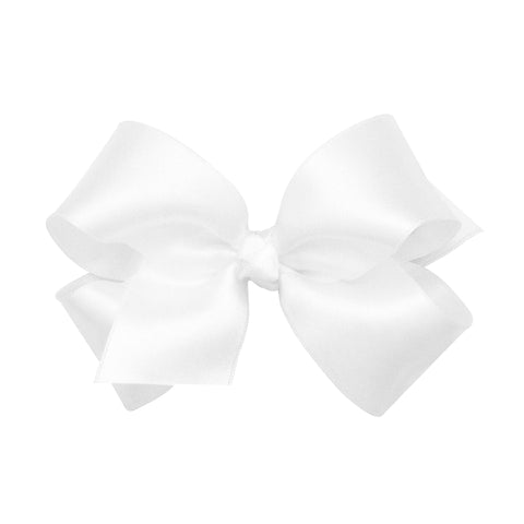 Medium Classic French Satin Bow