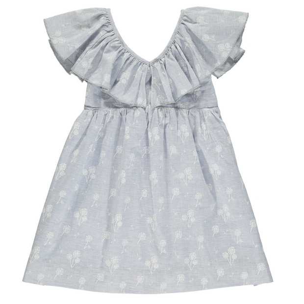 Sparrow Dress in Blue Dandelion