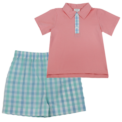 Parker Polo with Stewart Shorts Set