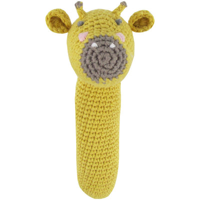 Crochet Giraffe Rattle