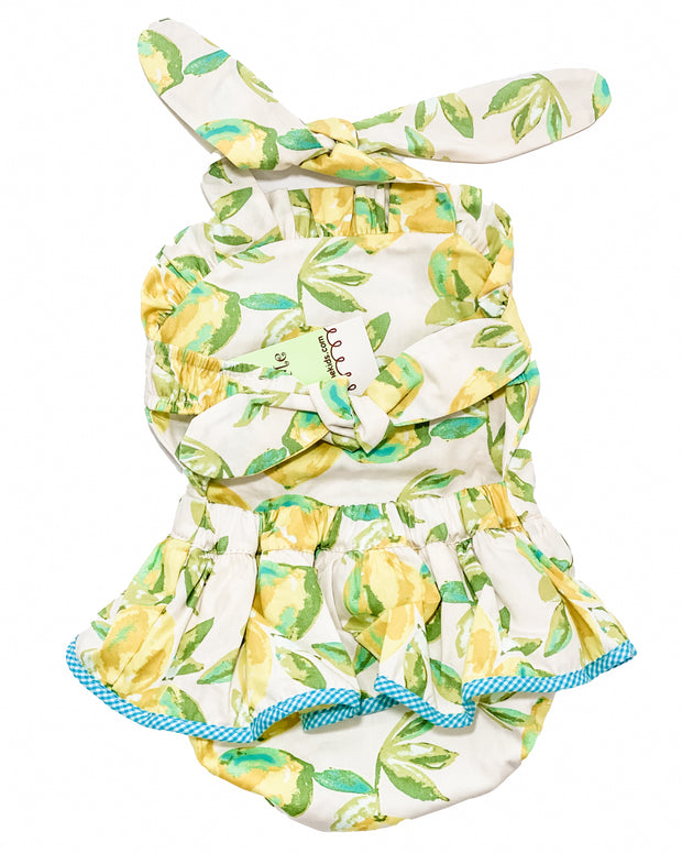 Le' Za Me Lemon Layette Sunsuit