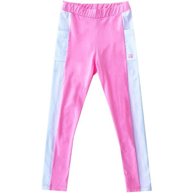 Set Lila Legging - Pink/White