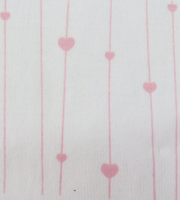 Little Hearts Burp Cloth