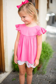 Grayton Garden Angel Sleeve Top & Scallop Shorts Set PRE-SALE