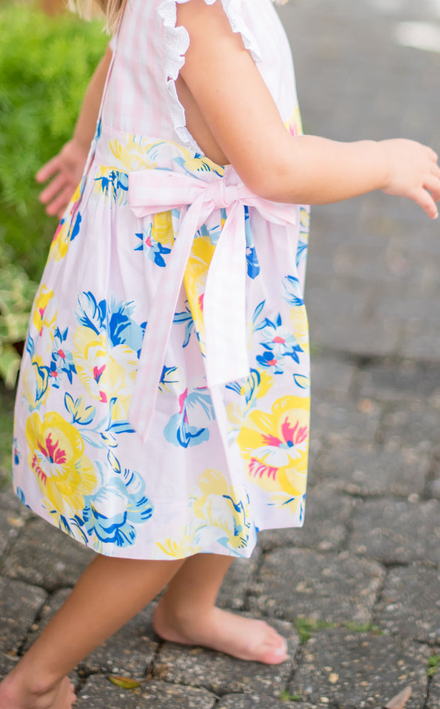 Seaside Sun Dress with Side Bows PRE-SALE