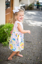 Seaside Sun Dress with Side Bows