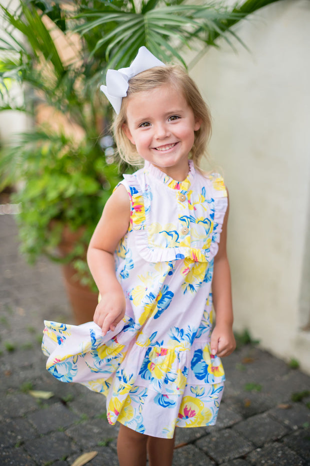 Seaside Sun Riley Ruffle Dress PRE-SALE