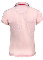 Turtles and Tees Girl's Cap Sleeve Polo