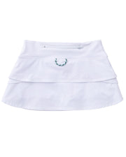 Girl's Pro Skort in White