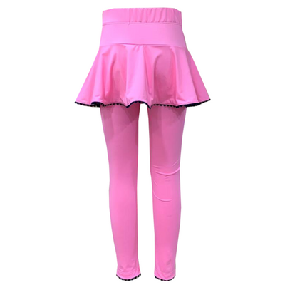 Set Quinn Legging/Skirt Set - Pink/Navy Ric Rac
