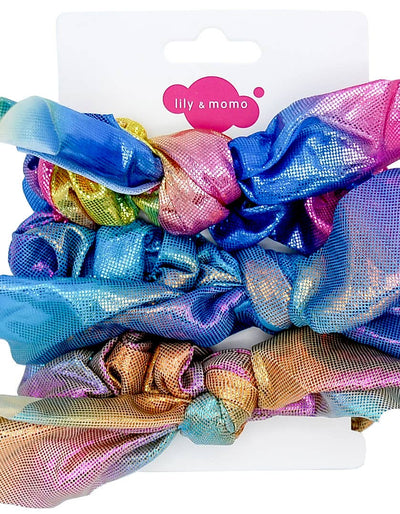 Sparkle & Shine Scrunchie Trio Set