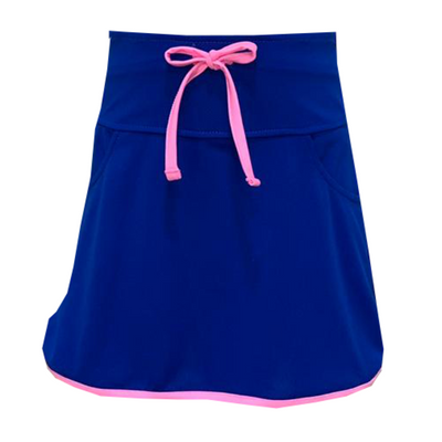 Set Tiffany Tennis Skort - Royal/Pink