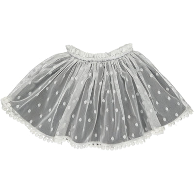 Vignette Reversible Violet Skirt in Charcoal