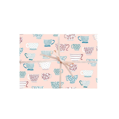 Tea Cups Gift Wrapping