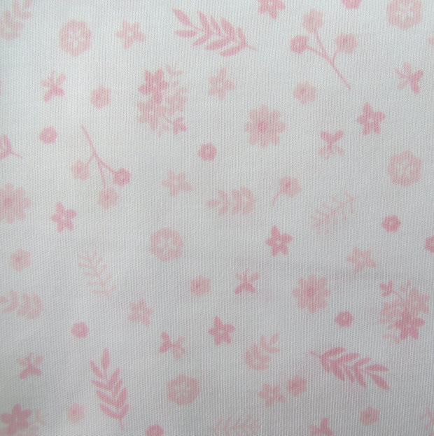 Little Flowers Pima Cotton Blanket