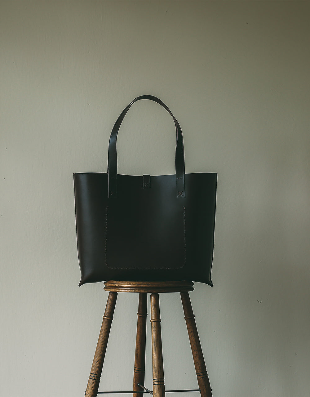 The Blamby Porter(Dark Brown Leather)