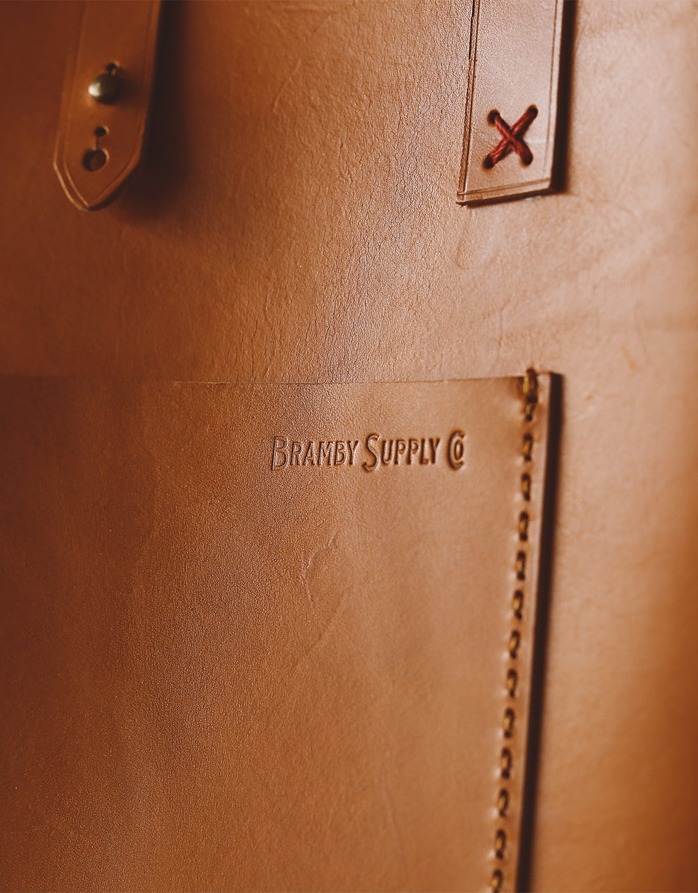 The Blamby Porter(Brown Leather)