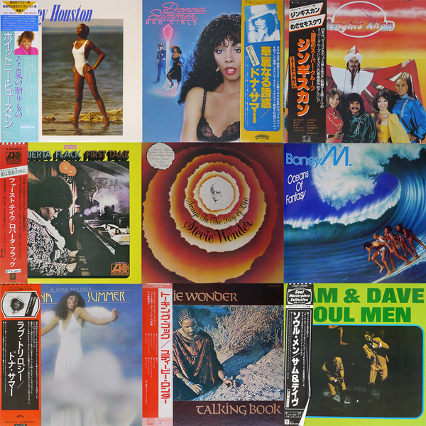 SOUL/FUNK LPs mixed by OBI & without OBI(Japanese Press) LOW PRICE!