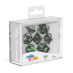 Oakie Doakie Dice RPG Set Enclave - Emerald (7) - Oakie Doakie Dice - Rare Roleplay