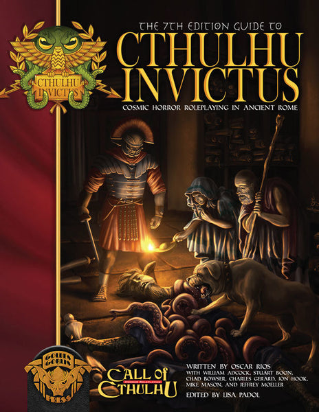 The 7th Edition Guide to Cthulhu Invictus - Call of Cthulhu Sourcebook - Golden Goblin Press - Rare Roleplay