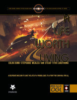 A Life Worth Living - Traveller Module - Hardcover and PDF - Stygian Fox - Rare Roleplay