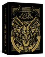 Dungeons and Dragons Art and Arcana Special Edition - Wizards of the Coast - Rare Roleplay