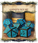 Call of Cthulhu - Outer Gods Azathoth Dice Set Kickstarter Edition - Q-Workshop - Rare Roleplay
