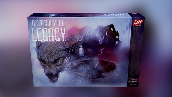 Betrayal Legacy - Avalon Hill - Rare Roleplay