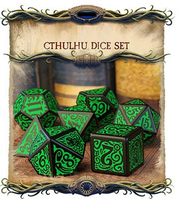 Call of Cthulhu - Outer Gods Cthulhu Dice Set Kickstarter Edition - Q-Workshop - Rare Roleplay