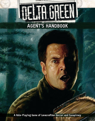 Delta Green Agent's Handbook - Hardcover Book - Arc Dream Publishing - Rare Roleplay