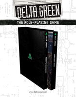 Delta Green: The Role-Playing Game - Hardcover Slipcase Set - Arc Dream Publishing - Rare Roleplay