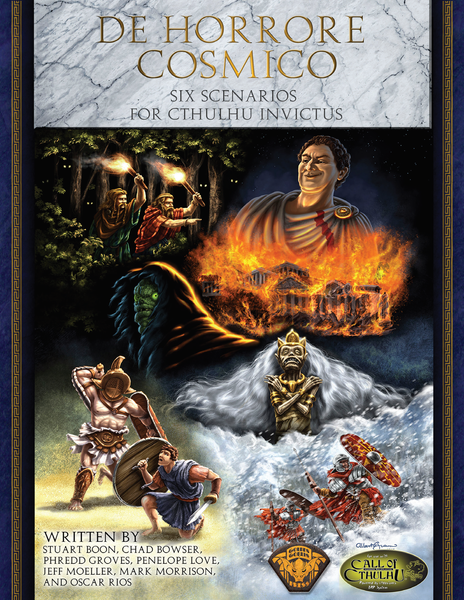 De Horrore Cosmico - Call of Cthulhu Module - Golden Goblin Press - Rare Roleplay