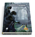 Devil's Swamp - Call of Cthulhu Module - Hardcover Book - New Comet Games - Rare Roleplay