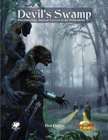 Devil's Swamp - Call of Cthulhu Module - Softcover Book - New Comet Games - Rare Roleplay