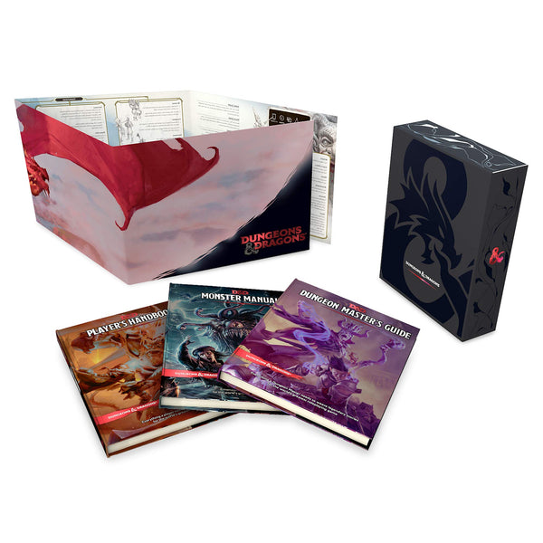 D&D Core Rulebook Gift Set - Foil Covers - Wizards of the Coast - Rare Roleplay