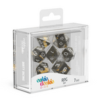 Oakie Doakie Dice RPG Set Enclave - Amber (7) - Oakie Doakie Dice - Rare Roleplay