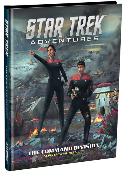 Star Trek Adventures: Command Division supplement - Modiphius - Rare Roleplay