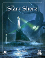 The Star on the Shore - Call of Cthulhu Module - Hardcover Book - New Comet Games - Rare Roleplay