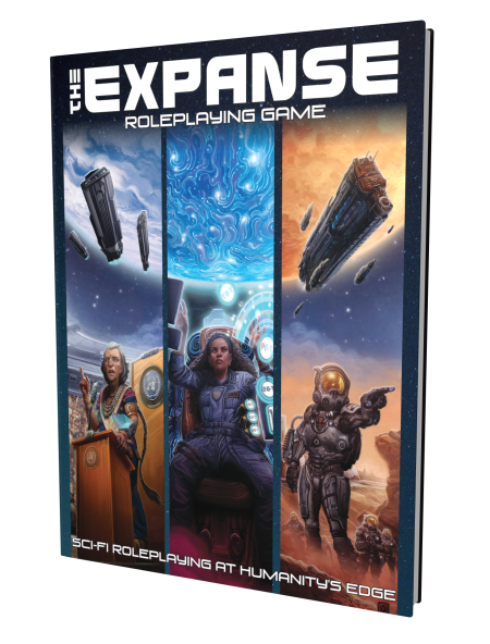 The Expanse RPG Core Rules - Hardcover Books - Green Ronin - Rare Roleplay