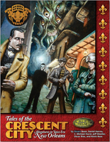 Tales of the Crescent City-Adventures in Jazz Era New Orleans - Call of Cthulhu - Softcover Book - Golden Goblin Press - Rare Roleplay