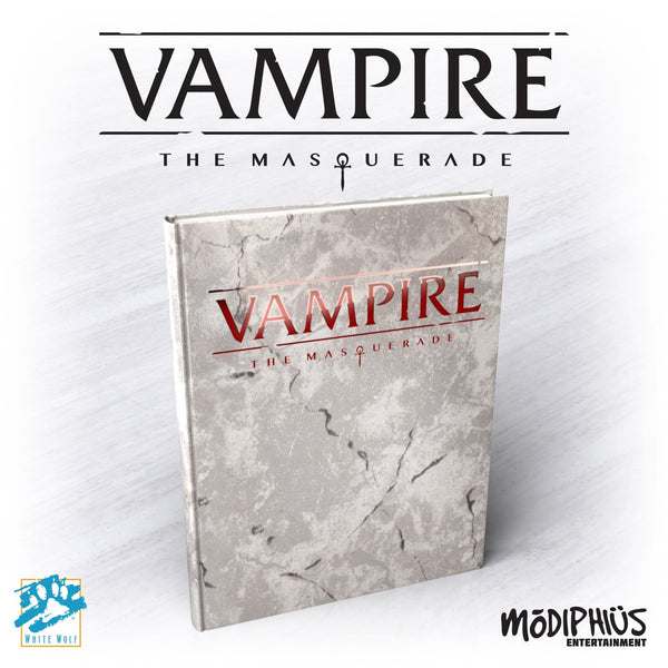 Vampire: The Masquerade 5th edition Deluxe Edition Core Book Hardcover and PDF - Modiphius - Rare Roleplay