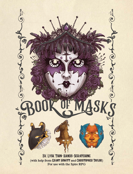 Book of Masks: a Spire Sourcebook