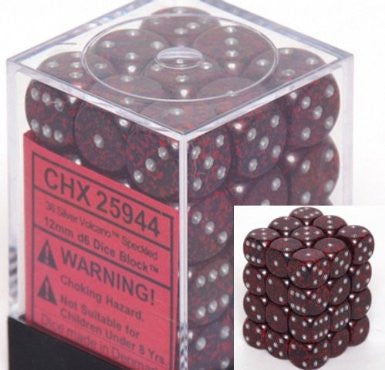 Chessex Speckled Volcano 12m d6 (36) - Chessex - Rare Roleplay