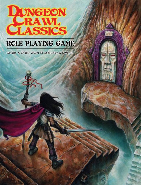 Dungeon Crawl Classics Core Rulebook - Softcover Book - Goodman Games - Rare Roleplay