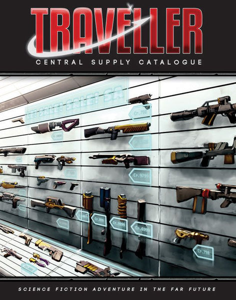 Traveller: Central Supply Catalogue - Includes PDF