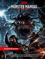 Dungeons and Dragons Monster Manual (D&D) - Wizards of the Coast - Rare Roleplay