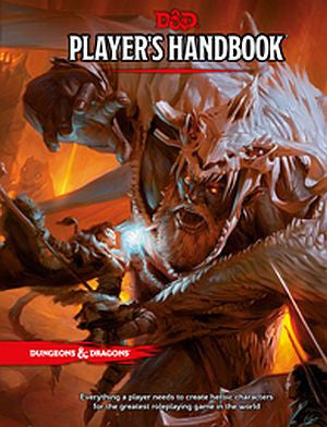 Dungeons and Dragons Players Handbook (D&D) - Wizards of the Coast - Rare Roleplay