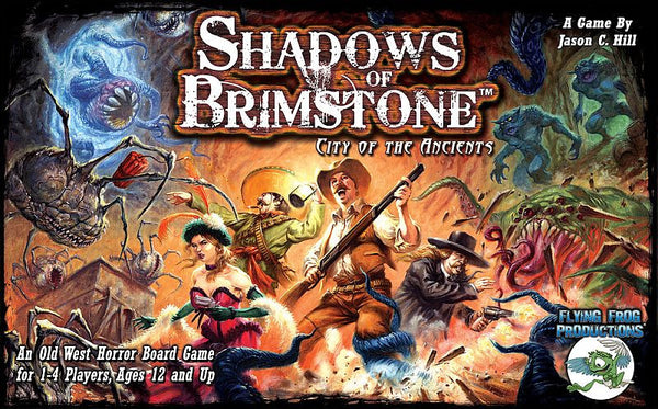 Shadows of Brimstone - City of Ancients - Flying Frog Productions - Rare Roleplay