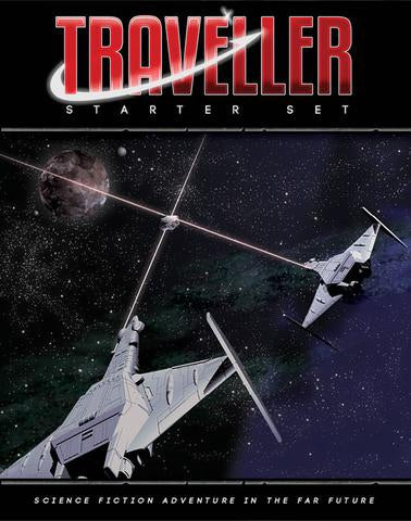 Traveller Starter Set - Mongoose Publishing - Rare Roleplay