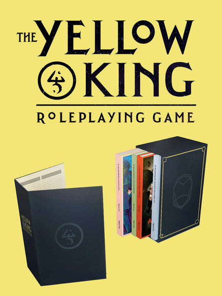 The Yellow King RPG includes PDF